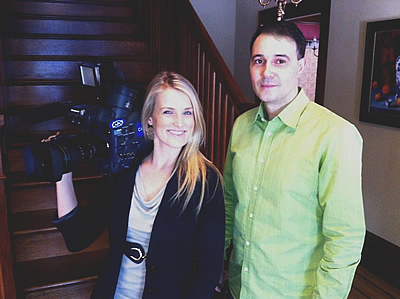 with Kat Cullen of Hamilton Life TV